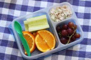 chicken salad packed lunch