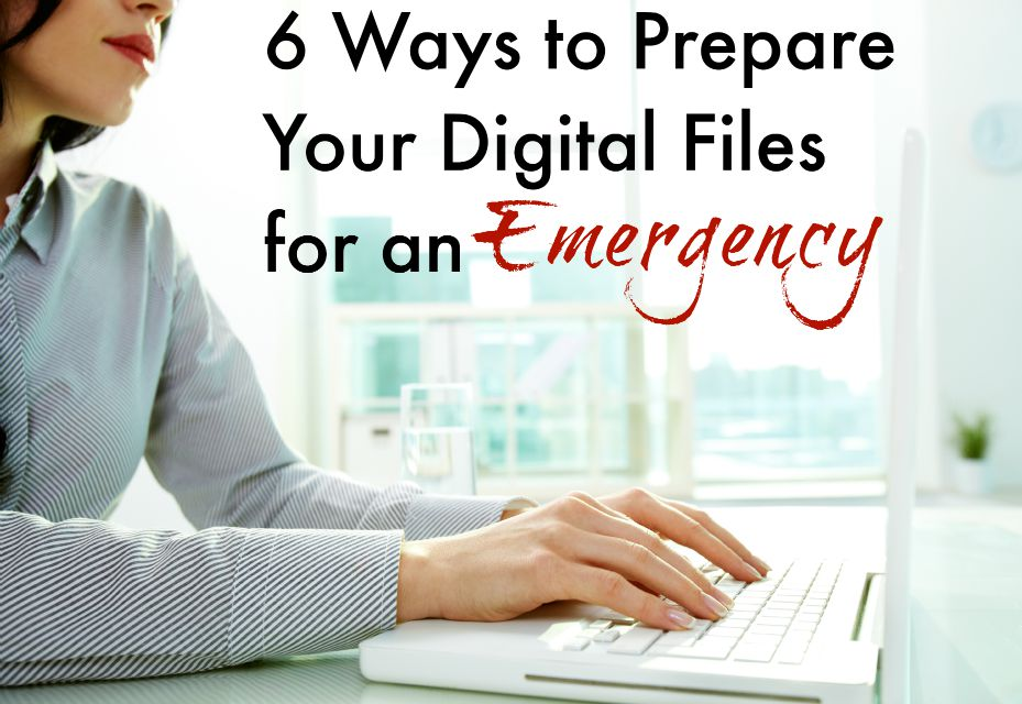 6 Ways to Prepare Your Digital Files for an Emergency | Tips from LifeasMom.com