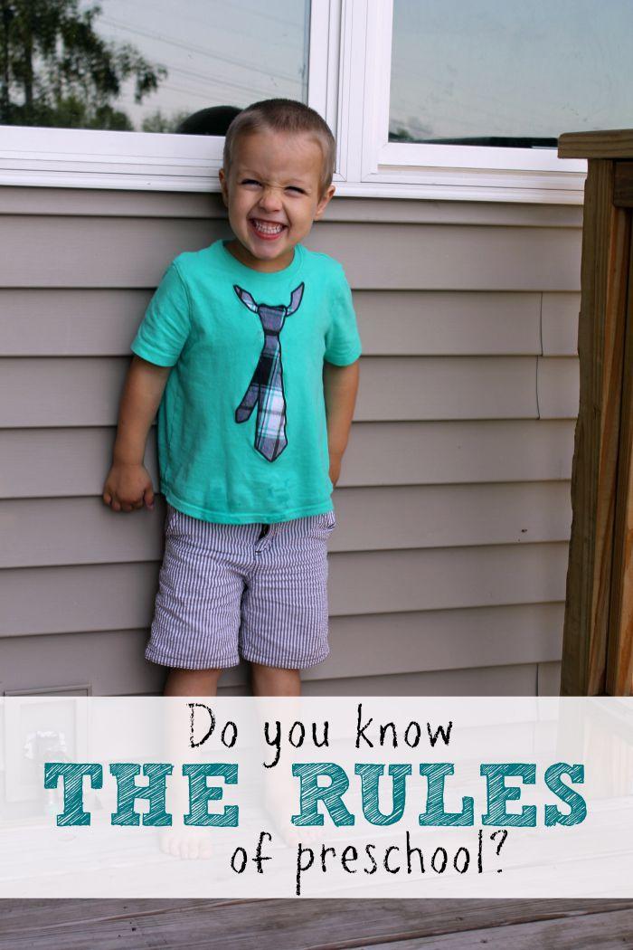 The Rules of Preschool