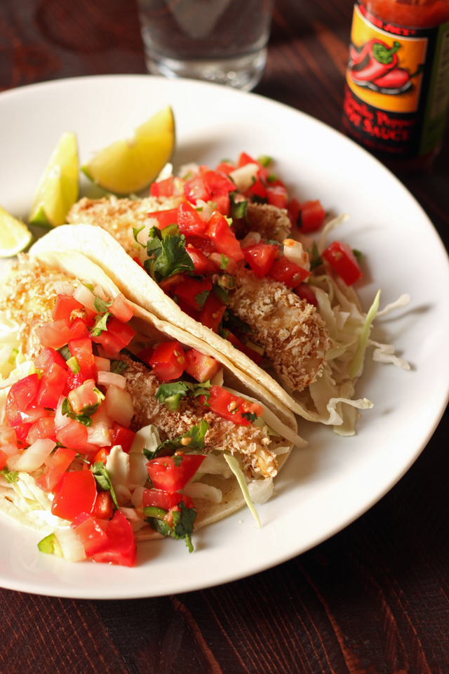 fish tacos for book promotion
