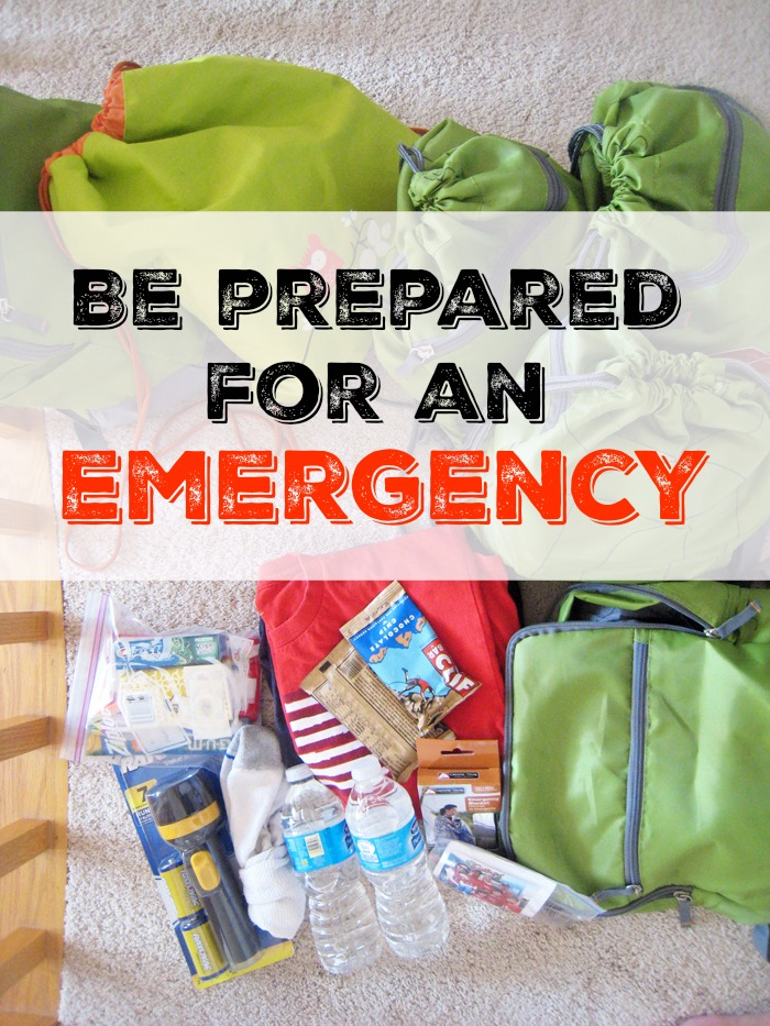 Be Prepared for an Emergency | Life as Mom - It's in the best interests of your family to be prepared for an emergency or natural disaster. Follow these tips to help you get started.
