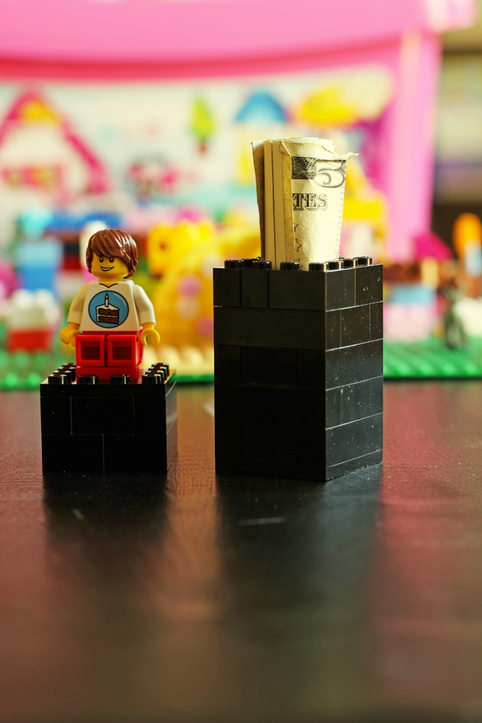 lego box holding money