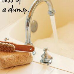 Make The Bathroom Less of a Dump