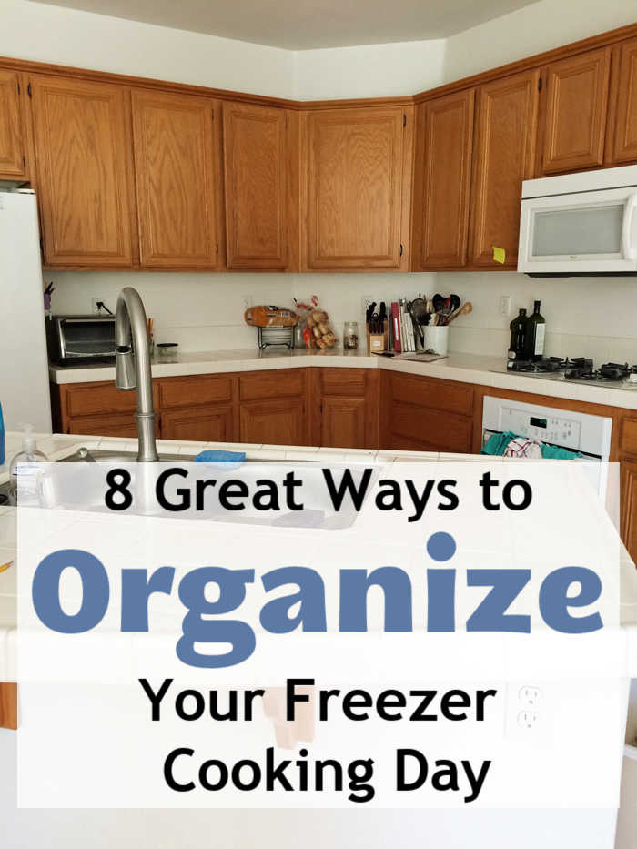 8 Great Ways to Organize Your Freezer Cooking Day | Life as Mom