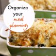 Organize Your Meal Planning