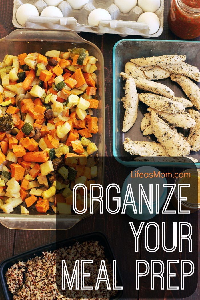 Organize Your Meal Prep | Life as Mom