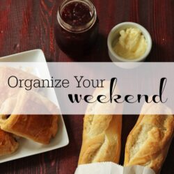 Organize Your Weekend