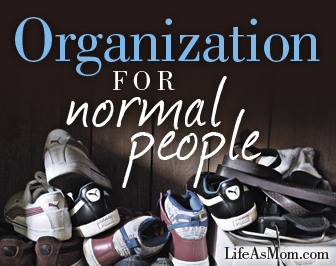 Household Chores: Organized | Tips from Life as Mom
