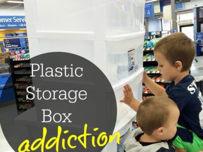Plastic Storage Box Addiction