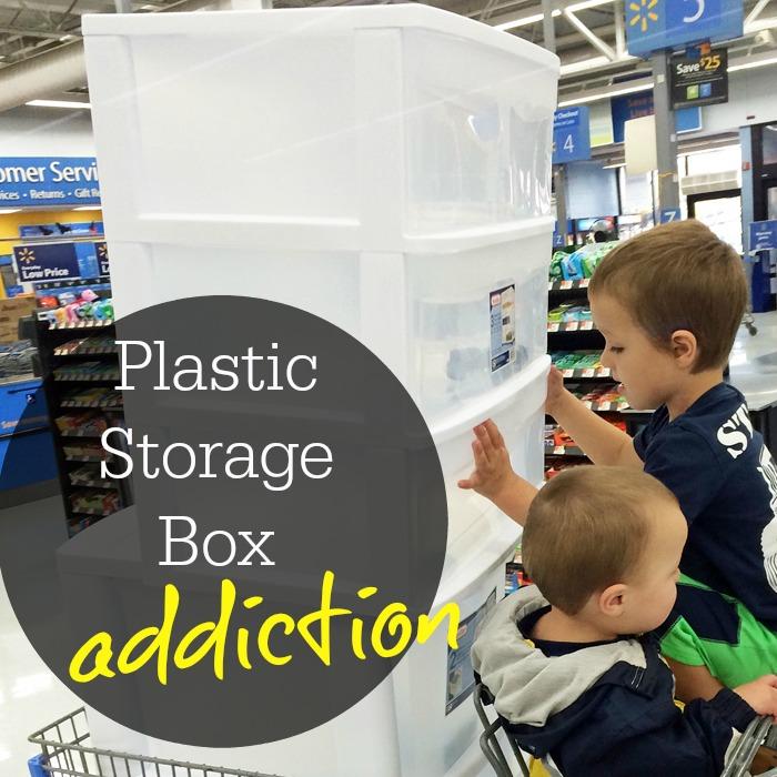 Plastic Storage Box Addiction