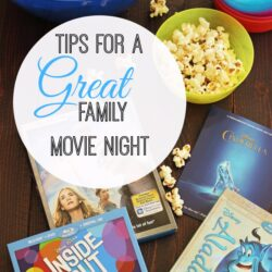 Tips for a Great Family Movie Night