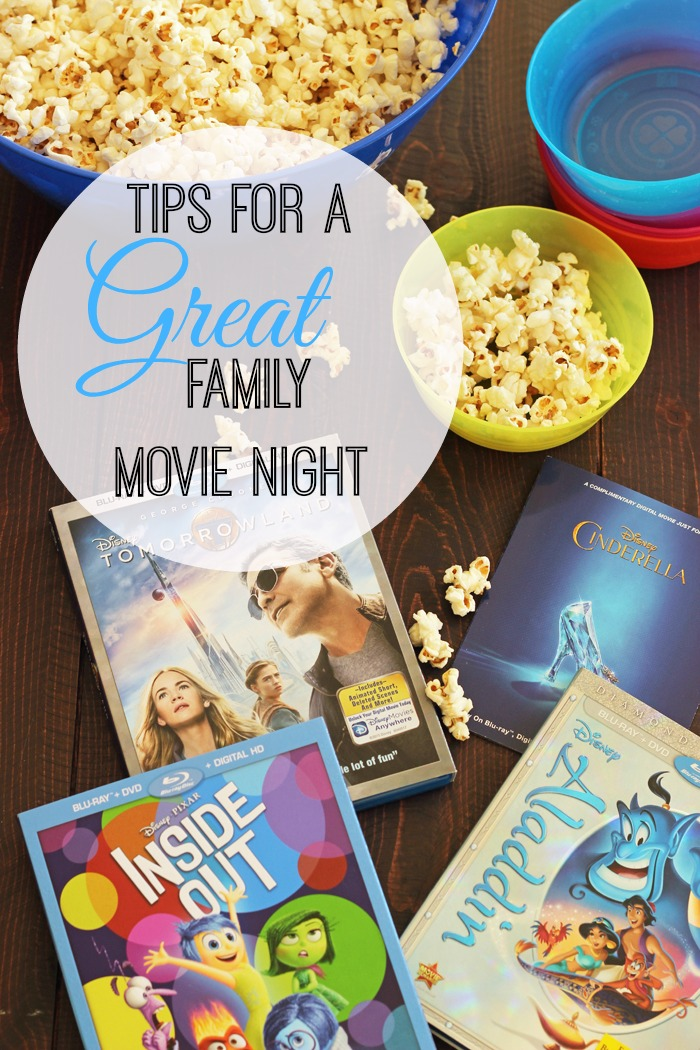 Tips for a Great Family Movie Night | Life as Mom