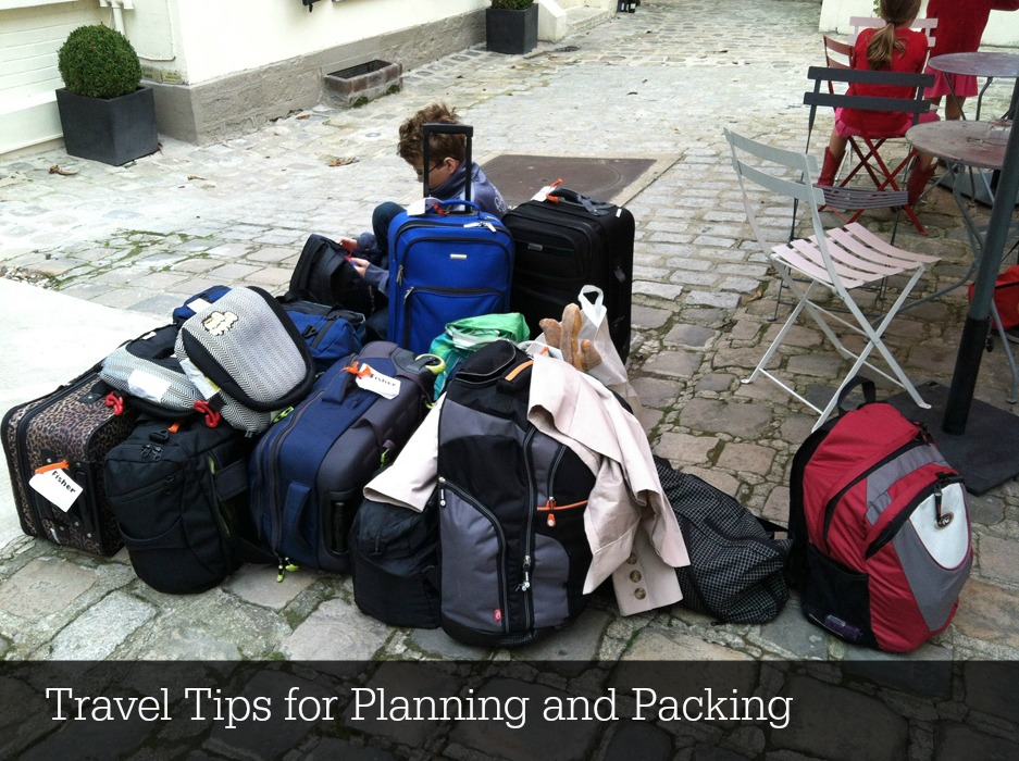Travel Tips for Planning and Packing | Life as Mom - A vacation or business trip can involve a lot of details. Follow these travel tips to help you be organized and enjoy a great trip.