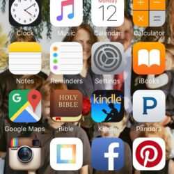 Organized Phone Apps