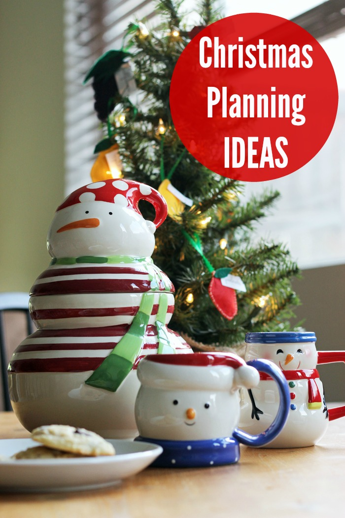 Christmas Planning Ideas | Life as Mom