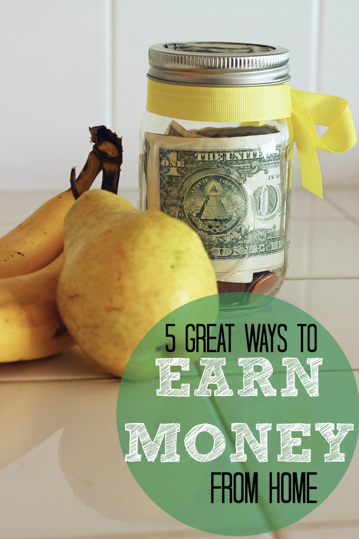 Earn Money from Home | Life as Mom