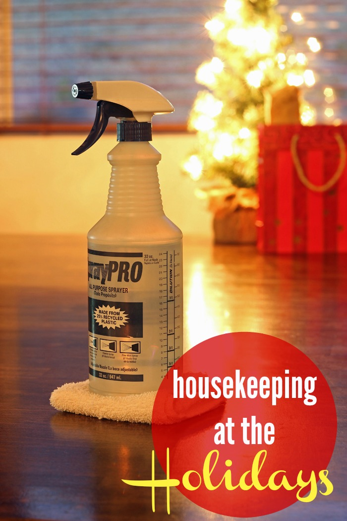 Housekeeping at the Holidays | Life as Mom