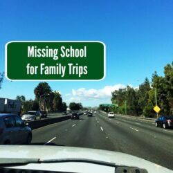 Missing School for Family Trips FEAT