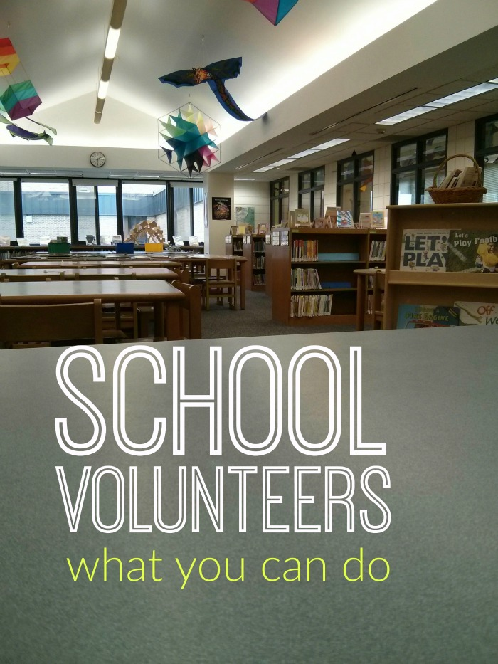 School Volunteers What You Can Do | Life as Mom