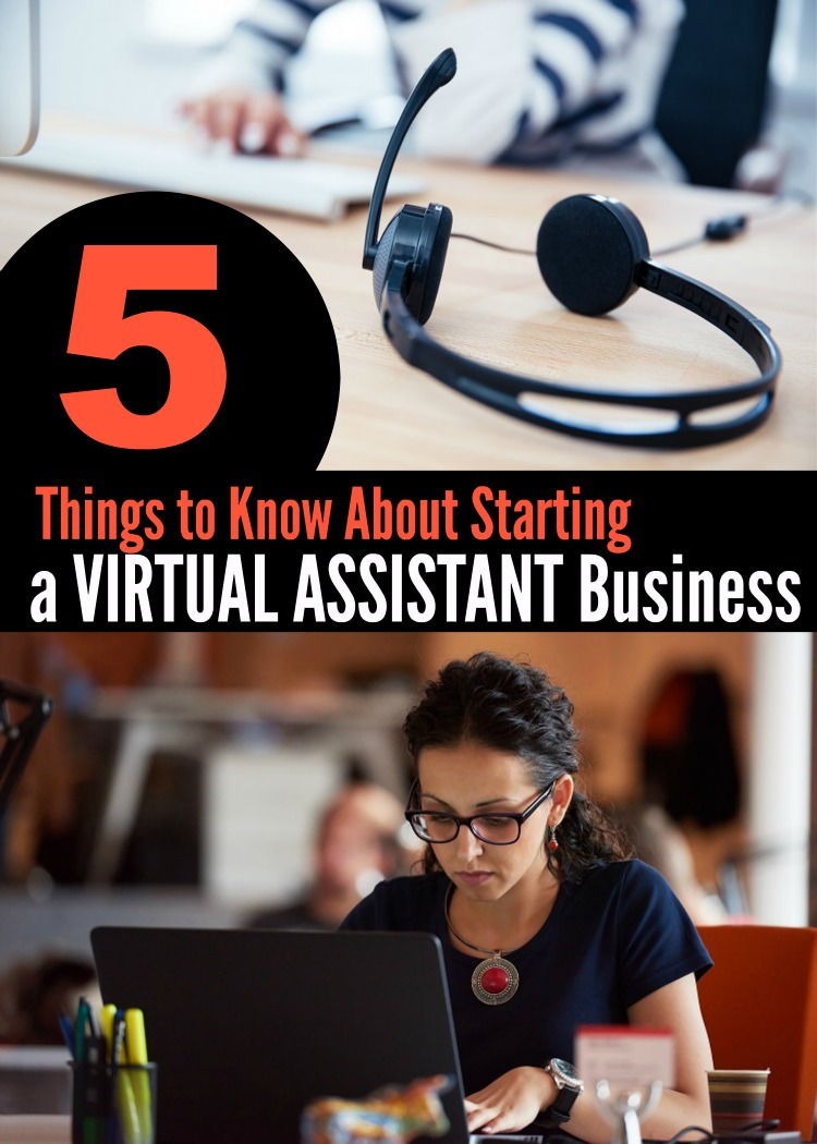 Starting a Virtual Assistant Business | Life as Mom