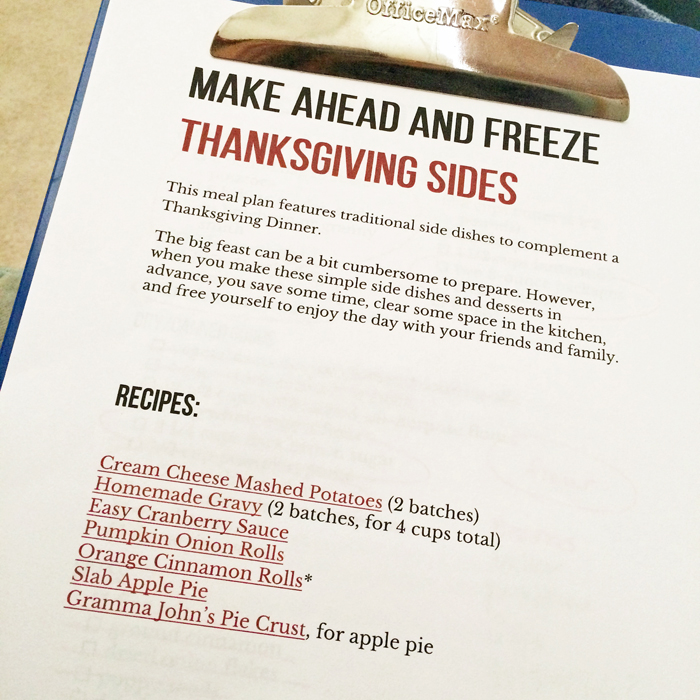 Make-Ahead and Freeze Thanksgiving Side Dishes | Life as Mom