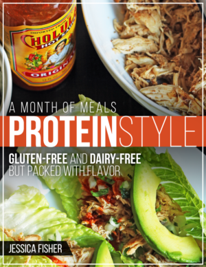 cover image of protein style meal plan