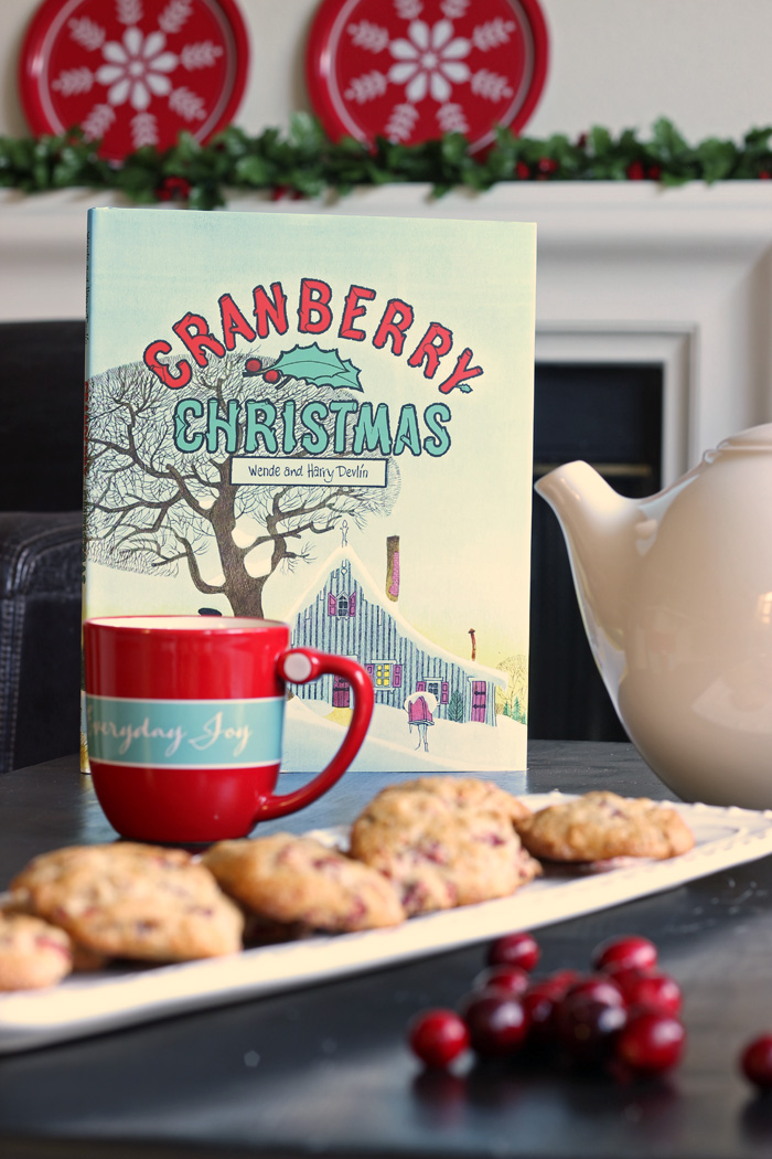 Cranberry Christmas Cookies | Life as Mom