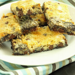 Double Chocolate Magic Bars