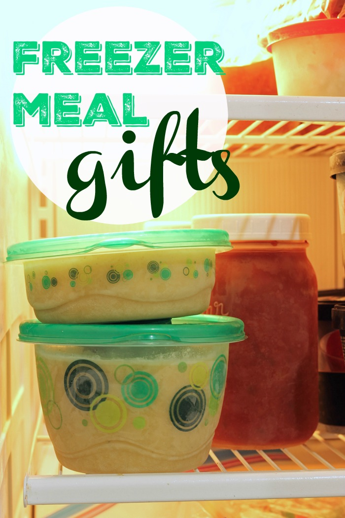 Freezer Meal Gifts - Life as Mom