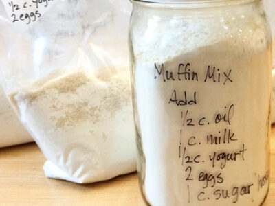 Freezer Meals You Can Give as Gifts Muffin Mix