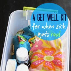 Get Well Kit  Life as Mom FEAT
