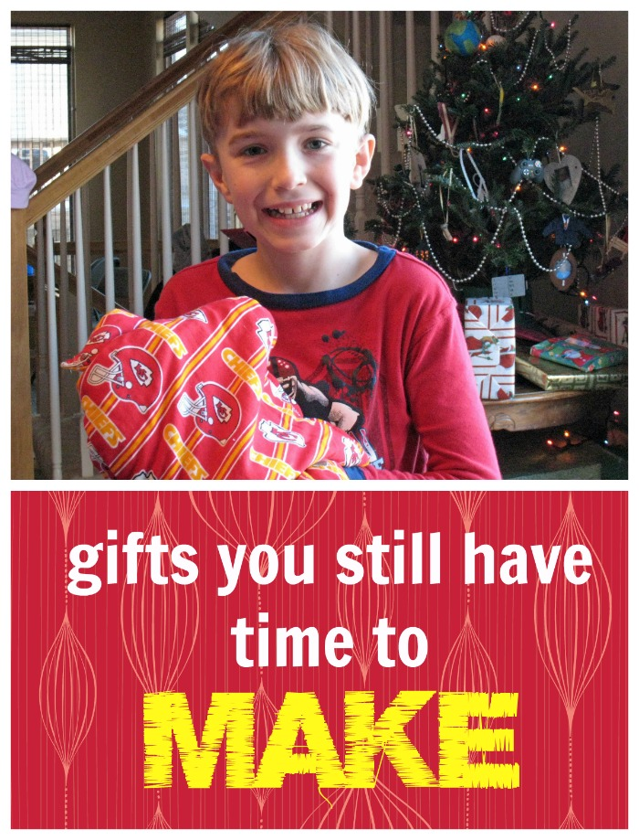 Gifts You Still Have Time to Make
