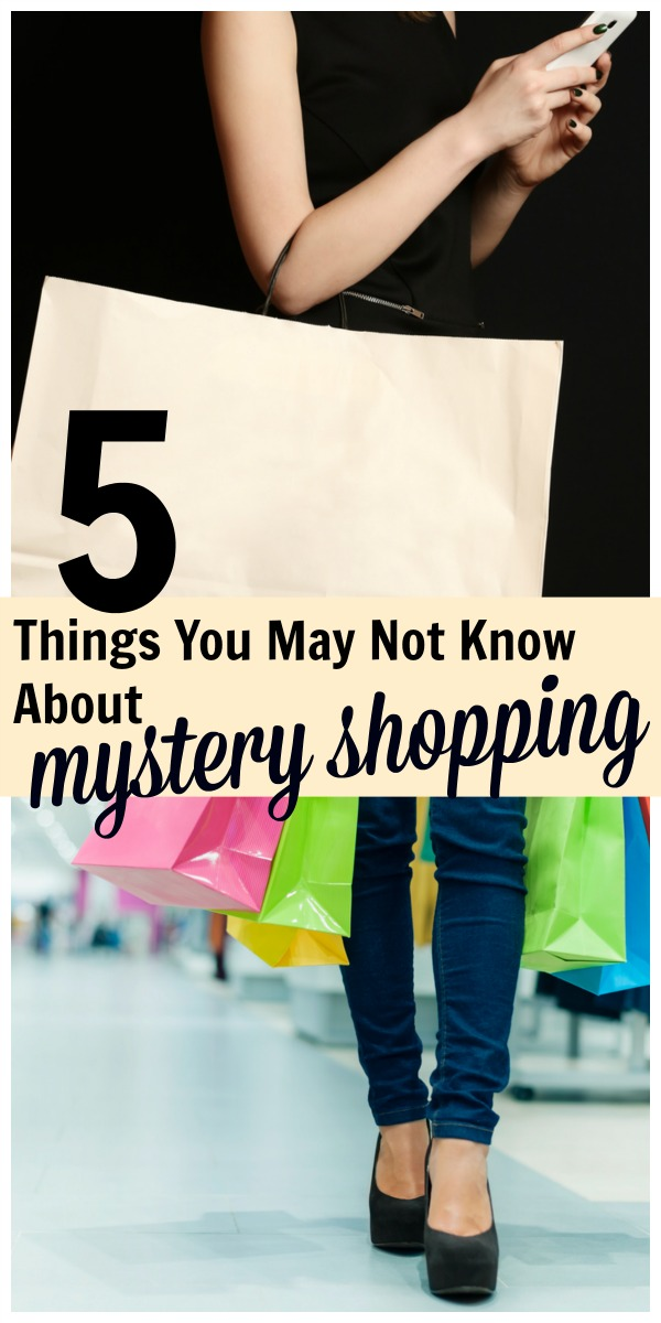 Mystery Shopping: 5 Things You May Not Know | Life as Mom