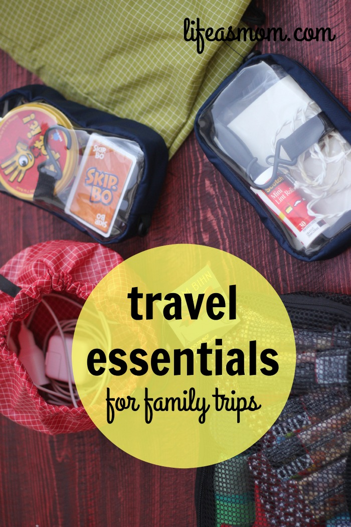 Travel Essentials for Family Trips | Life as Mom