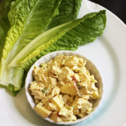 chicken curry lettuce wraps (1)