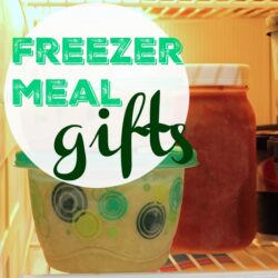 Freezer Meal Gifts How-to