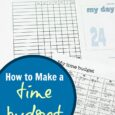 How to Make a Time Budget
