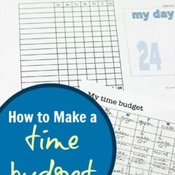 Time Budget, Push Goals, & Getting My Act Together