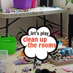 Let's Play Clean Up the Rooms FEAT