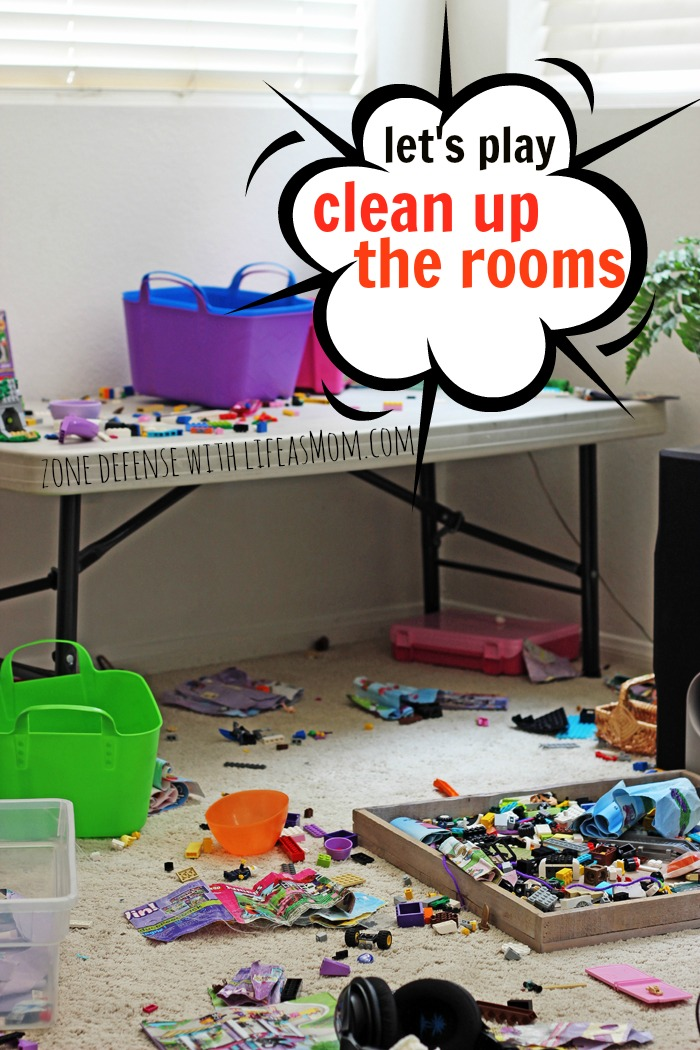 Let's Play Clean Up the Rooms | Life as Mom - Ready to clean up the rooms? Dejunk? Organize? Get your act together? I've got a plan.
