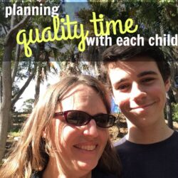 Planning Quality Time with Each Child