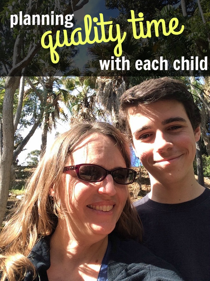 Planning Quality Time with Each Child   Life as Mom - Planning quality time with each child, particularly in a large family, can be tricky. But, it's not impossible. And it's SO worth the effort!
