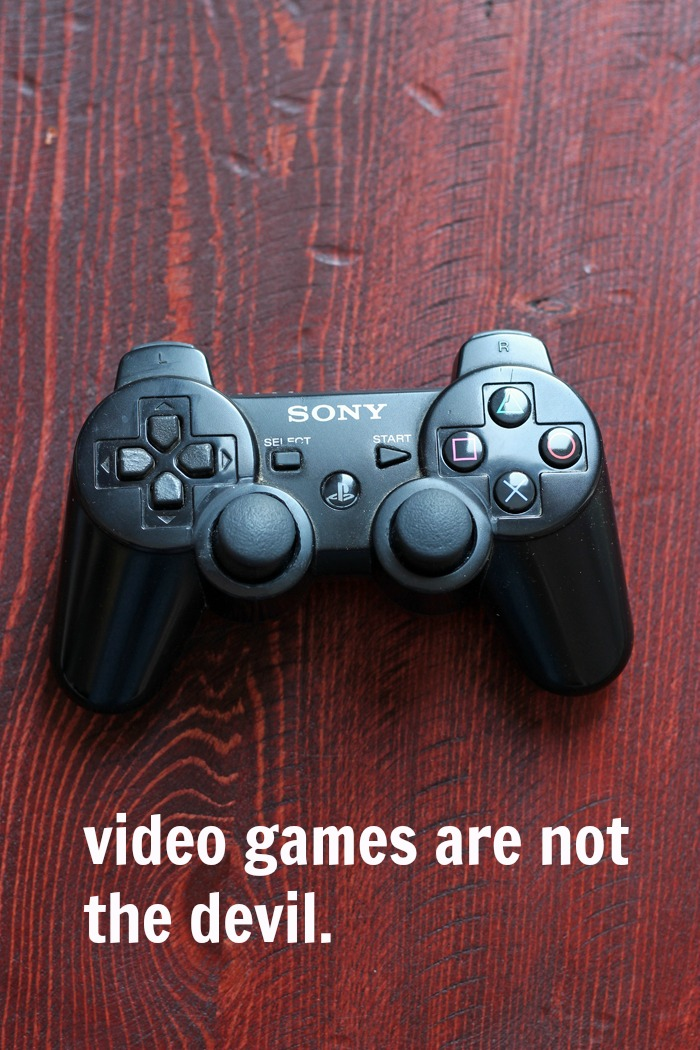 Video Games are not the Devil | Life as Mom