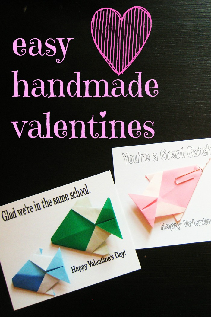 Easy Handmade Valentines