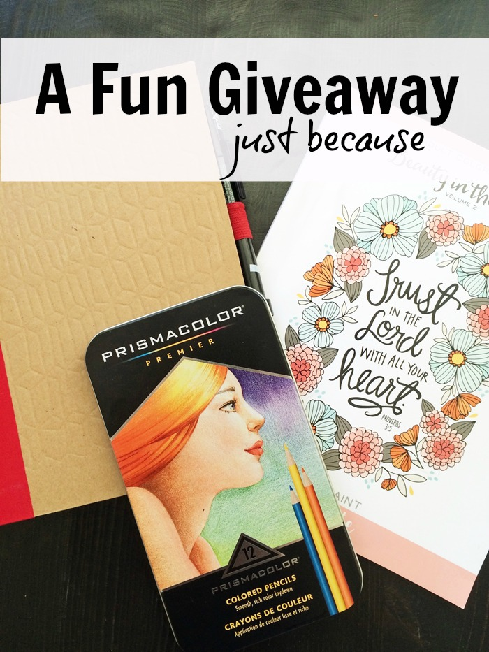 Giveaway just because