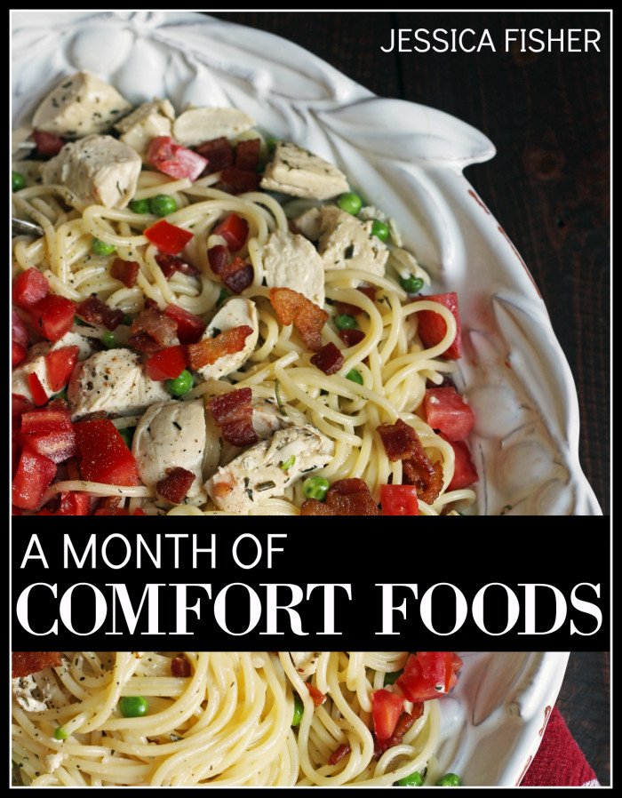 A Month of Comfort Foods Meal Plans | Life as Mom