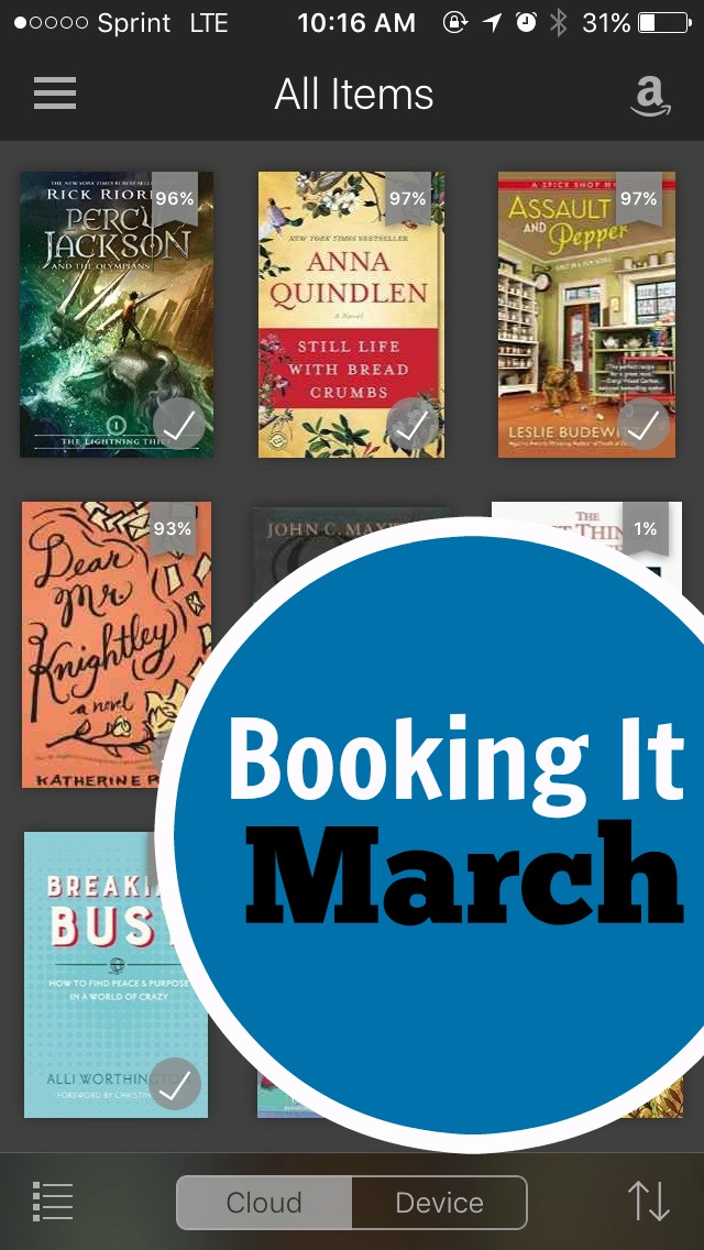 Books I Read in March | Book reviews from Life as Mom