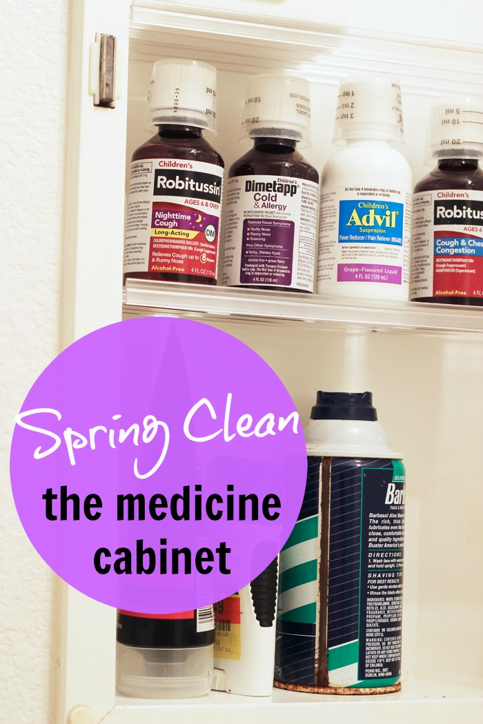 Spring Clean the Medicine Cabinet Life as Mom
