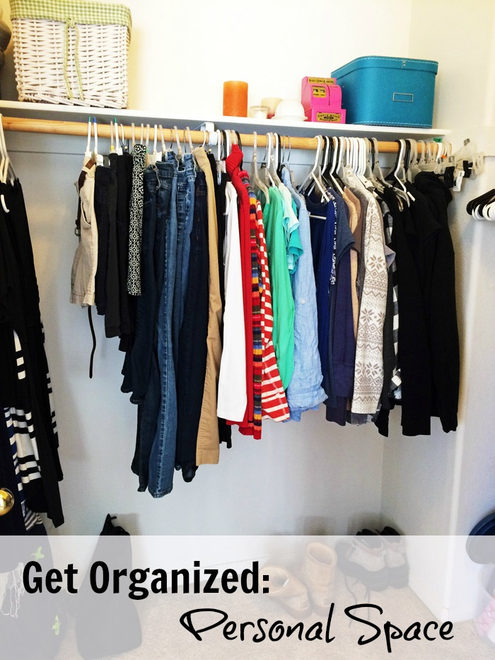 Get Organized: Personal Space | Life as Mom