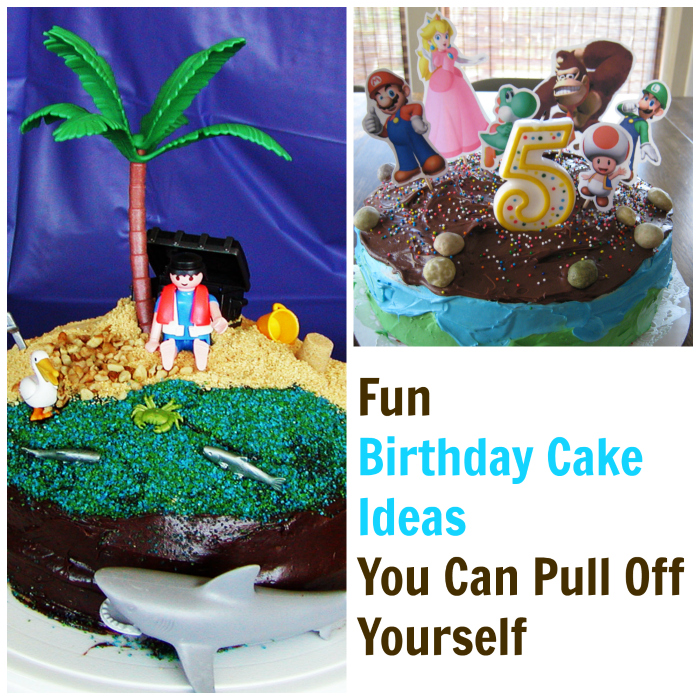 Fun Birthday Cake Ideas You Can Pull Off Yourself | Life as Mom